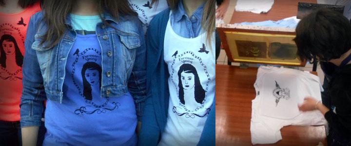 Atelier sérigraphie sur tee-shirt