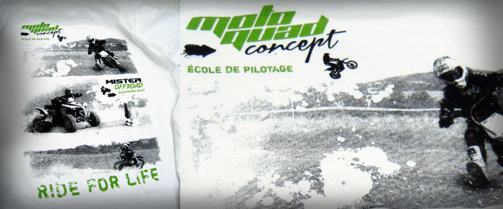 Sérigraphie tee-shirts mister offroad