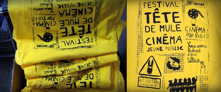 tee-shirts festival tête de mule
