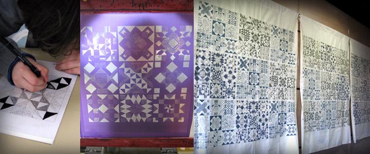 atelier mosaïque textile